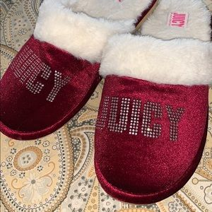 Juicy slippers